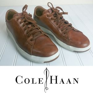 Cole Haan Brown Leather Size 9 Men's Sneakers